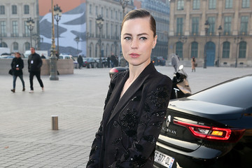 Melissa George Celebrity Sightings : Day Two - Paris Fashion Week- Haute Couture Spring Summer 2017