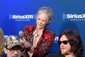 Melissa McBride SiriusXM 'Town Hall' With the Cast of 'The Walking Dead'