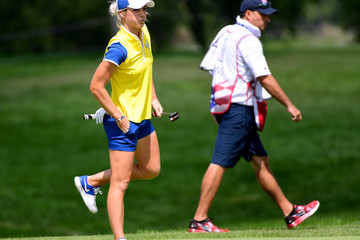 Melissa Reid The Solheim Cup - Day Two