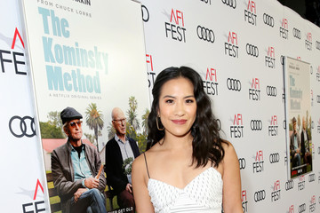 Melissa Tang Los Angeles Premiere Of 'The Kominsky Method' At AFI Fest At TCL Chinese Theater