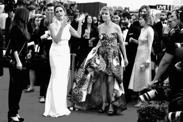 Melora Hardin Amy Landecker An Alternative View of the 22nd Annual Screen Actors Guild Awards