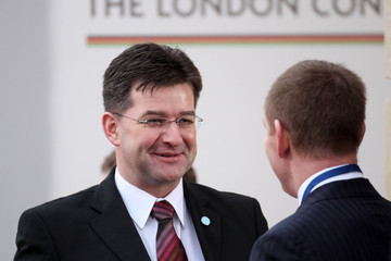 Miroslav Lajcak Members Of The International Community Meet For The Afghanistan Conference