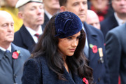 Meghan, Duchess of Sussex attends the 91st Field of Remembrance at Westminster Abbey on November 07, 2019 in London, England.