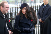 Meghan Duchess of Sussex attends the 91st Field of Remembrance at Westminster Abbey on November 07, 2019 in London, England.