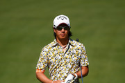 Ryo Ishikawa of Japan walks down the first hole during the final round of the Memorial Tournament presented by Nationwide Insurance at Muirfield Village Golf Club on June 1, 2014 in Dublin, Ohio.