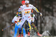 Marcus Hellner of Sweden competes in the Men's 4x10km Cross Country Relay during the FIS Nordic World Ski Championships on March 3, 2017 in Lahti, Finland.