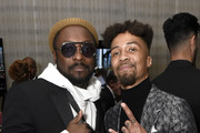 (L-R) will.i.am and Jonny Goood attend the Mercedes-Benz Academy Awards Viewing Party at The Four Seasons Hotel Los Angeles at Beverly Hills on February 09, 2020 in Los Angeles, California.