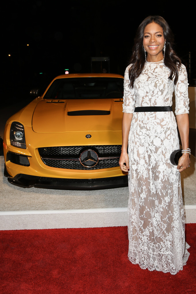 Actress Naomie Harris arrives in style with Mercedes-Benz at the Palm Springs International Film Festival on January 4, 2014 in Palm Springs, California.