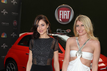 Meredith Ostrom Natasha Prince Fiat's Into The Green At The Golden Globe Awards