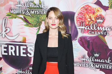 Merritt Patterson Hallmark Channel and Hallmark Movies and Mysteries Winter 2018 TCA Press Tour - Arrivals