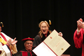Meryl Streep Meryl Streep Receives Honorary Degree