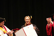 Meryl Streep Receives Honorary Degree