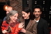 Jane Adams, Michelle Monaghan and Tomer Sisley attend the 'Messiah' Los Angeles Press Mixer at The Shelby on December 12, 2019 in Los Angeles, California.