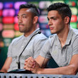 Raul Jimenez and Marco Fabian