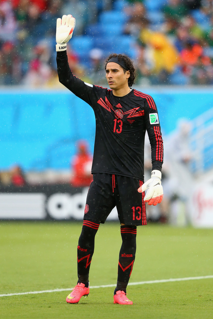 Guillermo ochoa photos photos mexico v cameroon group a - Guillermo ochoa wallpaper ...