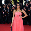Mia Frye Celebs Hit the Red Carpet in Cannes