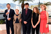 "(L-R) Actor John Turturro, actress Giulia Lazzarini, director Nanni Moretti, actress Beatrice Mancin and actress Margherita Buy attend a photocall for ""Mia Madre"" (""My Mother"") during the 68th annual Cannes Film Festival on May 16, 2015 in Cannes, France."