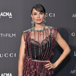 Mia Maestro 2018 LACMA Art + Film Gala Honoring Catherine Opie And Guillermo Del Toro Presented By Gucci - Red Carpet