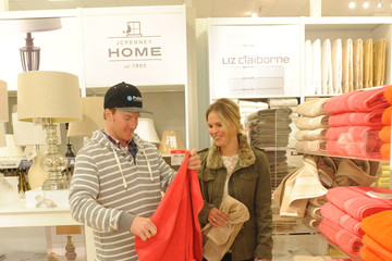 """Mia Pascoe JCPenney Celebrates Olympic Gold Medalist Ted Ligety At """"Welcome Home"""" Event"""