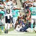 Antonio Gates Photos - Antonio Gates #85 of the Los Angeles Chargers scores the touchdown and makes the record all-time touchdowns by a tight end during the NFL game at the StubHub Center on September 17, 2017 in Carson, California. - Miami Dolphins vLos Angeles Chargers