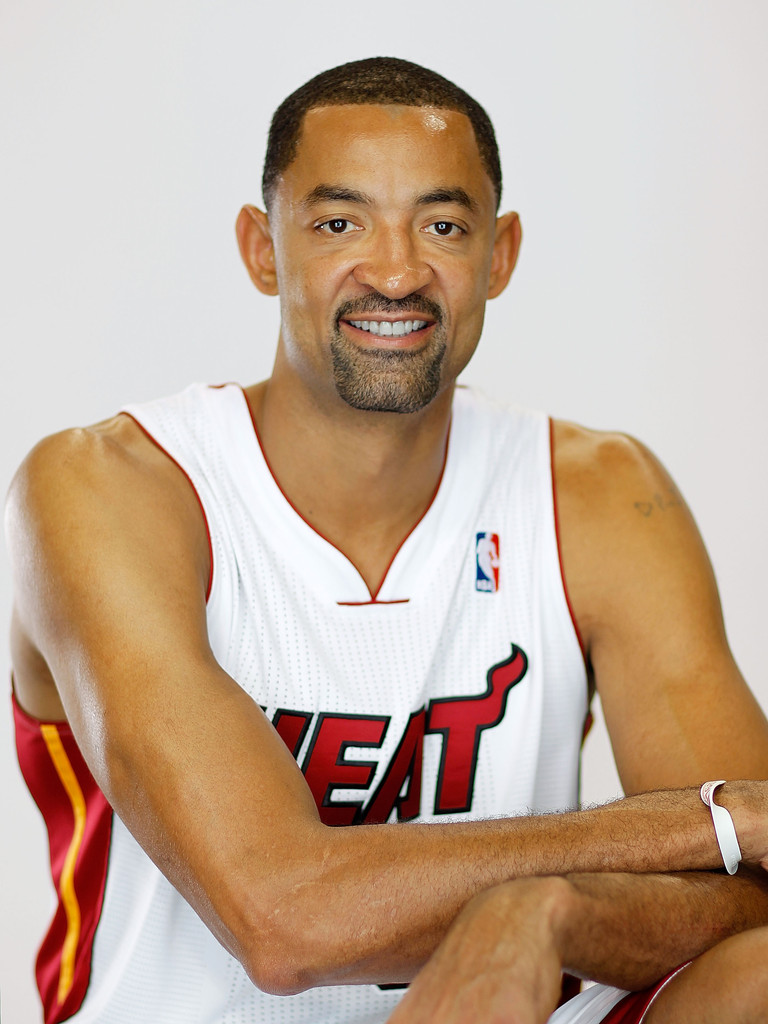Juwan Howard s s Miami Heat Media Day Zimbio