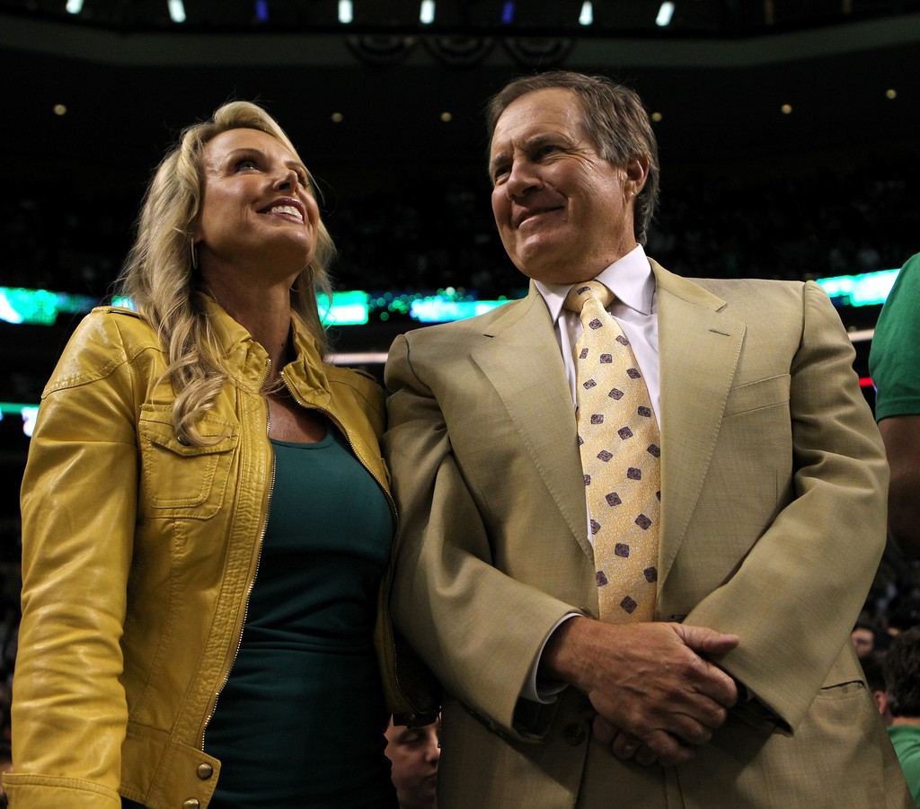 Linda Holliday And Bill Belichick At Time 100 Gala In New