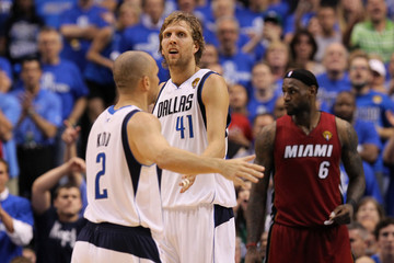 LeBron James Jason Kidd Miami Heat v Dallas Mavericks - Game Four