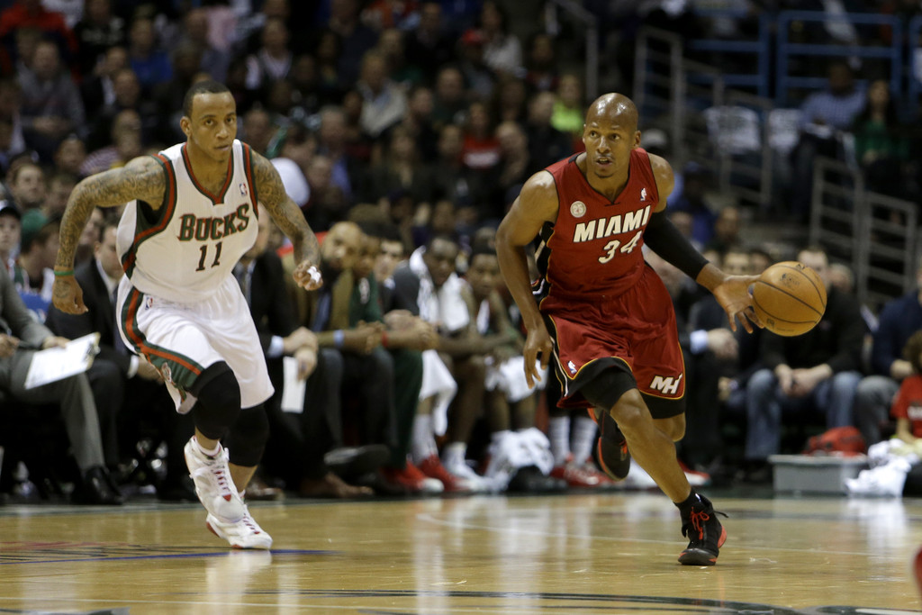 Heat Vs Bucks Image: Miami Heat V Milwaukee Bucks