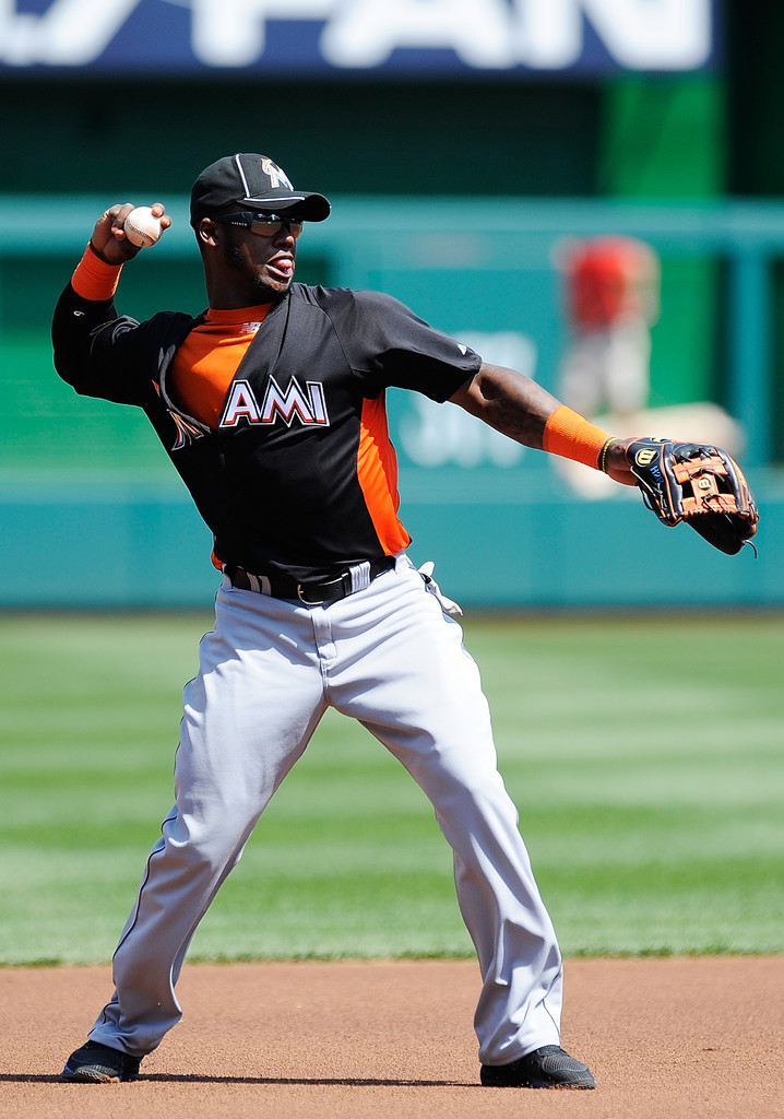 Hanley Ramirez Photos Photos Miami Marlins V Washington
