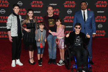 Micah Fowler Premiere of Disney Pictures and Lucasfilm's 'Star Wars: The Last Jedi' - Arrivals