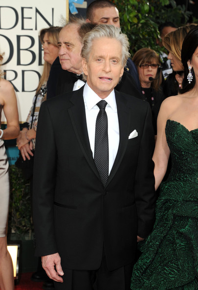 Actor Michael Douglas arrives at the 68th Annual Golden Globe Awards held at
