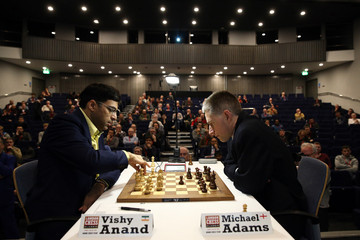 Michael Adams World Champion Plays at the London Chess Classic Competition