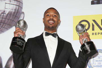 Michael B. Jordan 47th NAACP Image Awards Presented By TV One - Press Room