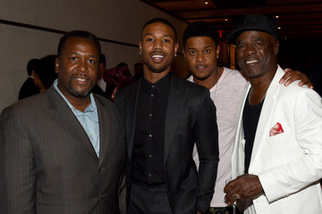 Michael B. Jordan SHOWTIME VIP Post-Fight Dinner For 'Mayweather VS Pacquiao' at Craftsteak