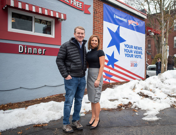 SiriusXM Broadcasts 2020 New Hampshire Democratic Primary Live From Iconic Red Arrow Diner - Day 2