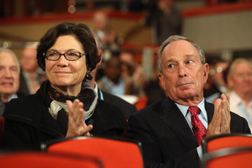 Michael Bloomberg Diana Taylor The Conservative Party Annual Conference Concludes With The Prime Minister's Keynote Speech