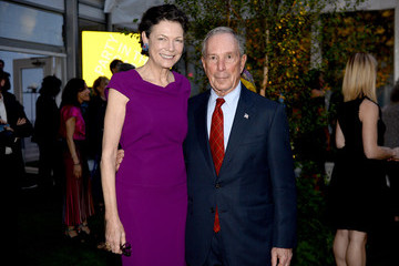 Michael Bloomberg Diana Taylor MOMA's Party In The Garden 2018