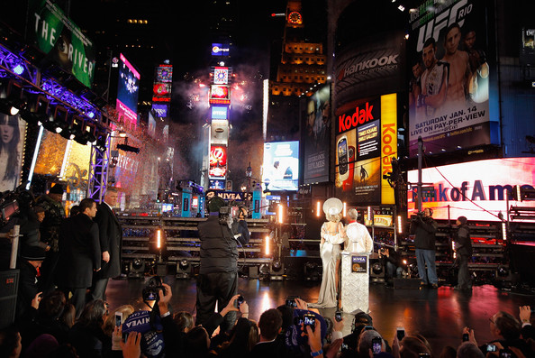 Michael Bloomberg - New Year's Eve 2012 In Times Square