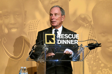Michael Bloomberg IRC Hosts the 2017 Rescue Dinner - Inside