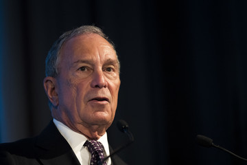 Michael Bloomberg President Obama Speaks at the U.S.-Africa Business Forum in New York