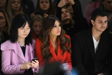 Michael Boulos Taoray Wang - Front Row - February 2019 - New York Fashion Week: The Shows
