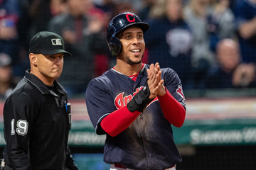 Michael Brantley Boston Red Sox v Cleveland Indians