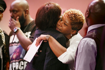 Michael Brown Lesley McSpadden Outrage Over Police Shooting in Ferguson