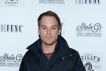 Michael C. Hall Stars at the NFL Playoff Party in Park City