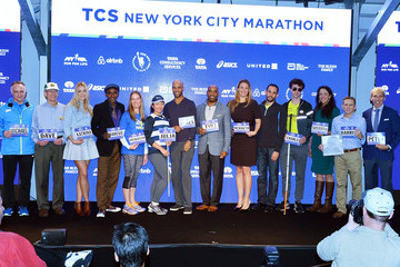 Michael Capiraso Faces of the 2015 New York City Marathon Media Photocall