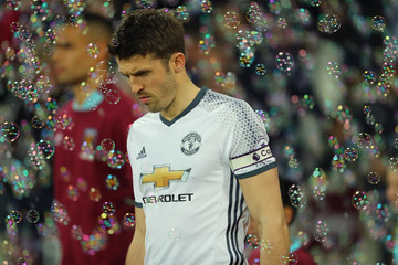 Michael Carrick West Ham United v Manchester United - Premier League