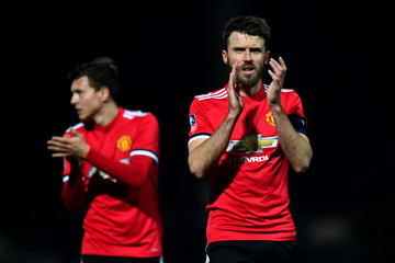 Michael Carrick Yeovil Town v Manchester United - The Emirates FA Cup Fourth Round