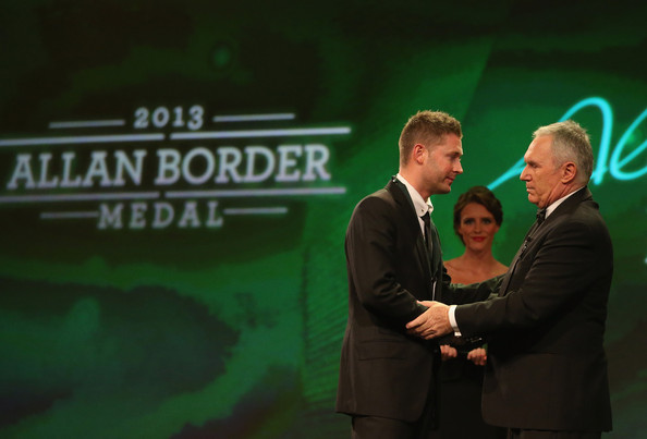 Allan Border Medal: Michael Clarke Photos Photos