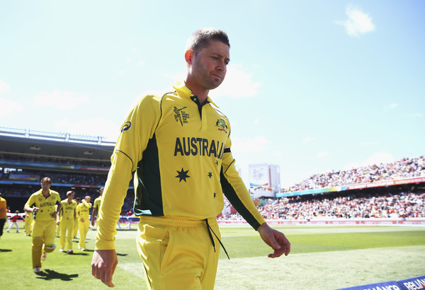 Michael Clarke bows out of ODI cricket
