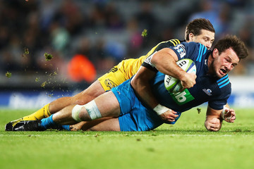 Michael Collins Super Rugby Rd 8 - Blues v Hurricanes